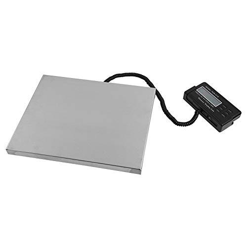 Draagbare industriële weegschaal, postweegschaal, digitale weegschaal, met LCD-display en achtergrondverlichting, 150 kg, 0,05 kg, 0,05 kg, 0,1 kg