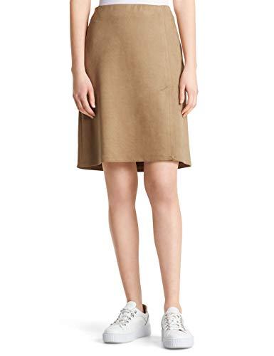 Marc Cain Collections Skirt Gonna, Marrone (Cappuccino 630), 50 (Taglia Produttore: 6) Donna