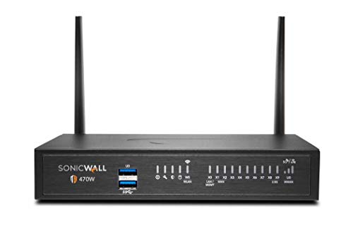 SonicWall TZ470 Wireless AC Secure Upgrade Plus 3YR Essential Edition (02-SSC-6810)