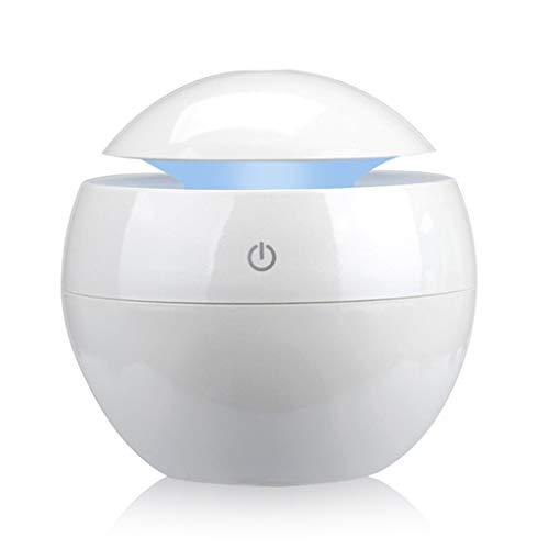 XXW huishouden aroma etherische olie diffuser mini USB luchtbevochtiger draagbare ultrasone mist luchtbevochtiger luchtreiniger LED nachtlicht luchtbevochtiger