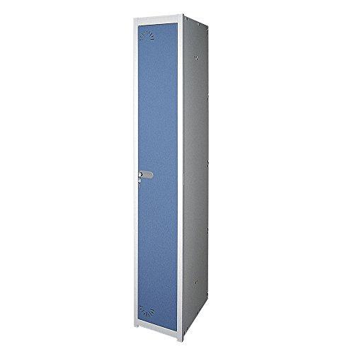 Taquilla metálica 1 Puerta. Módulo de 1 cuerpo. Med. 1800x280x520 mm. Desmontado.