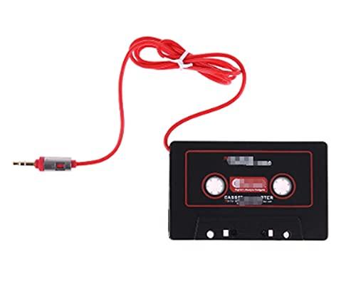 WANSHIDA QiQi Shop Jack Plug Casether Cassette Adapter Cassette Converter Fit para iPhone MP3 MP4 Phone Computer Aux CD Player iPod 3.5mm Interfaz