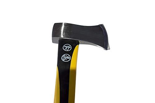Truper 33680 3-1/2-Pound Premium Single Bit Axe with Fiberglass Handle,33-Inch