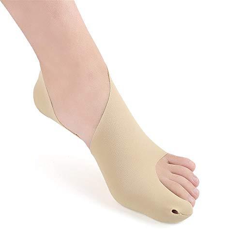 Separadores de Dedos Dedo Gordo del pie valgo Vendajes Anti-Stomp esguince de Tobillo Baloncesto del pie de la Cubierta del Protector de Deportes Unisex Enderezadora de Dedos Correctores de Dedos