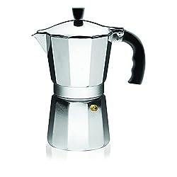 top rated IMUSA USA B120-42V Espresso Aluminum Plate, Coffee Machine, 3 Cups, Silver 2021