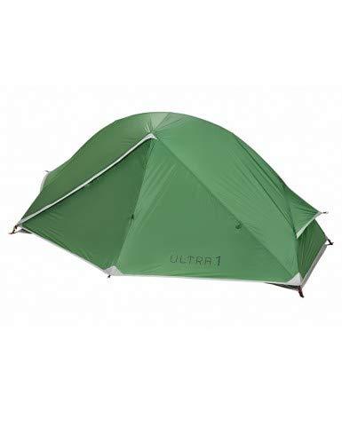 COLUMBUS Tienda de Campaña Ultra 1 XL | Tienda de Campaña Ultraligera para 1 Persona. Impermeable, Compacta, Rápida de Montar y Muy Técnica. Ideal para Travesía - Color Verde - Peso 1,4 kg