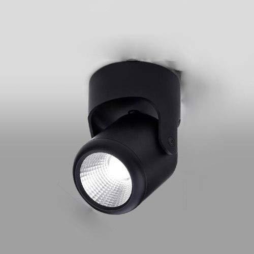 Hermoso Luz de techo LED Downlights 20W □ 75 * 120mm COB Spotlights Montado en la superficie 180 ° Pinchamiento de focos de techo Aluminio 3500K, 4000K, 6000K Lámparas de Iluminación Comerciales para