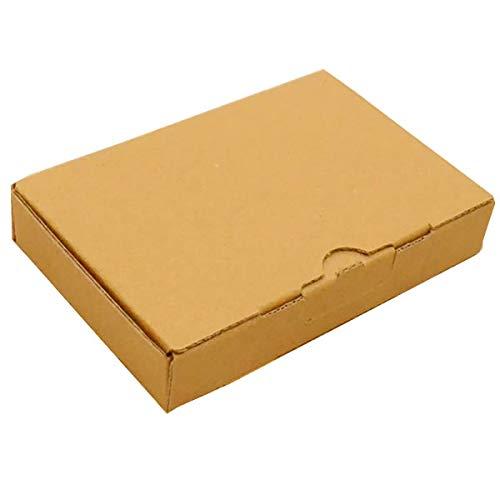 HOWAY 小型 ダンボール箱 (大) 外寸141×94×38mm| 小型ダンボール ダンボール 定形外 段ボール箱 メルカリ 梱包箱 外装箱 箱 クリックポスト ゆうゆうメルカリ便 ゆうパケット 定形外郵便 小 ギフトボックス ケース 小箱 発送 小物