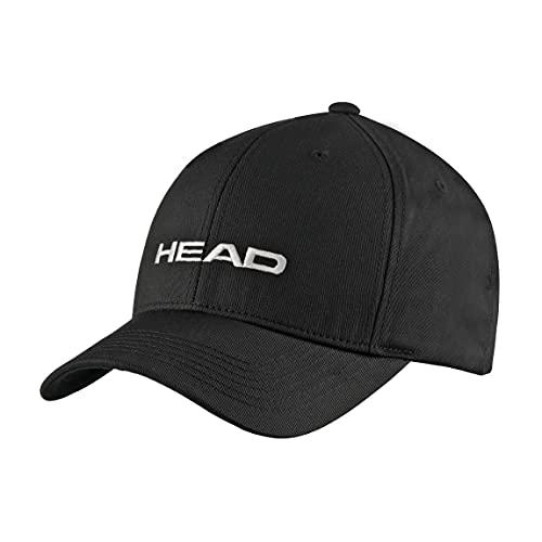 HEAD Promotion cap, Berretto Unisex Adulto, Nero, Taglia unica