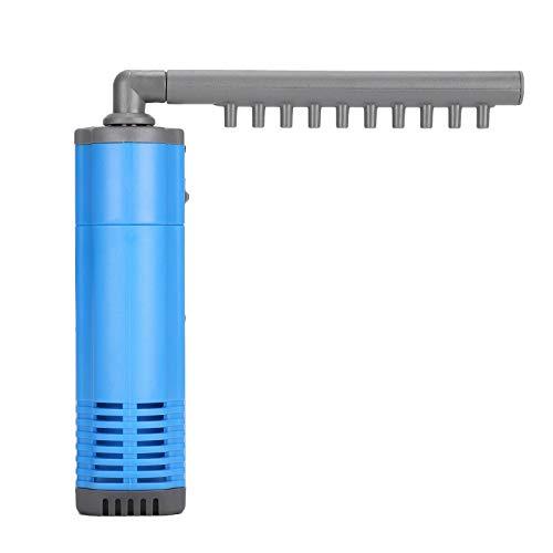 SALUTUYA Ventosas de Cuatro Patas Filtro de Lluvia para Tanque de Peces Bomba de Filtro de Acuario(220V, European Standard)