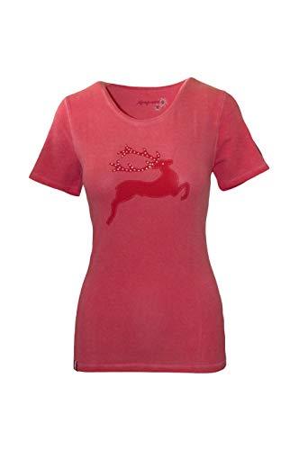 Almgwand T Shirt Damen Walleralm T-Shirt Sport Outdoor