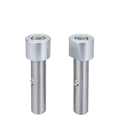 Hattori Aluminium-Bankhaken, 1 Paar, 105 mm, Ø 19 mm