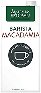 Australia's Own Macadamia Barista UHT Milk,. 1L