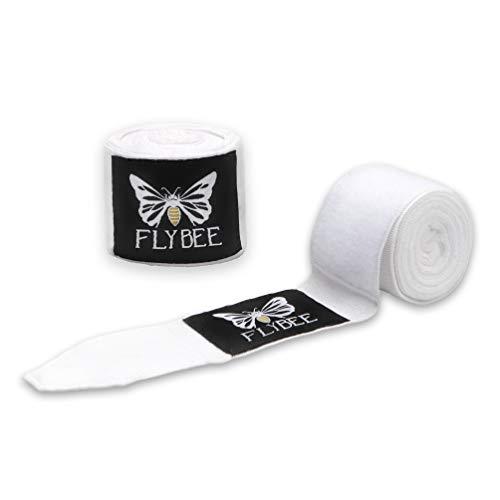 Flybee 4m Boxbandagen Elastisch, Weiß