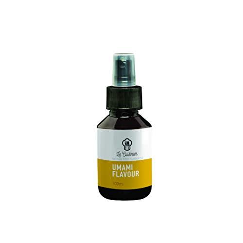 Umami Spray von Le Cuisiner 100ml I Umami Extrakt I Biologische Gewürze zum Backen & Kochen I Fleischiger, würziger und wohlschmeckender Geschmack für leckere Gerichte