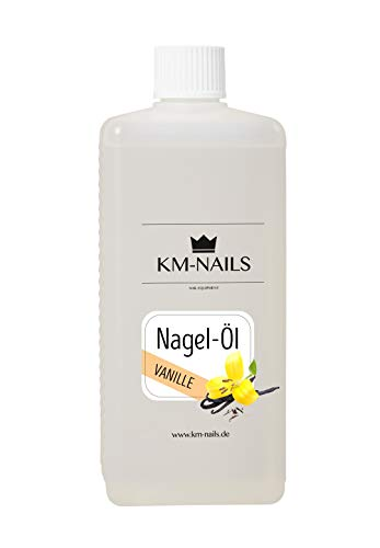 KM-Nails Nagelöl Vanille Duft super Duft & Pflege 500ml