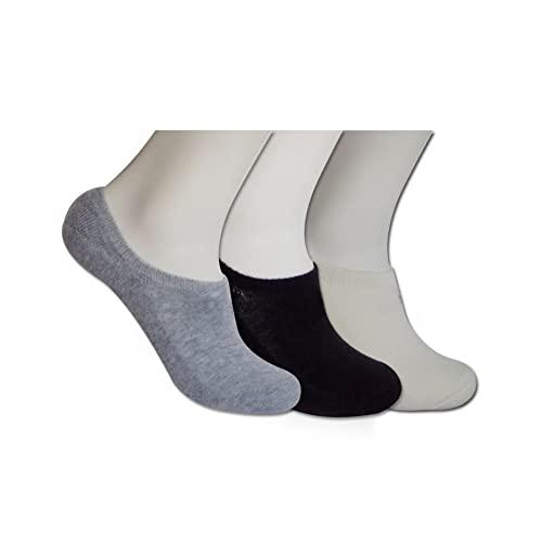 POPYS Calcetines cortos de lana, térmicos para hombre y mujer 2 Pares Blanco 40-43