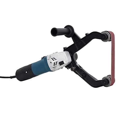 vidaXL Ponceuse à Bande Tubulaire Electrique Machine de Polissage de Tube Outil de Ponçage Polisseuse de Tubes Satinage Meulage 1300 W