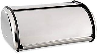 Wilko Stainless Steel Roll Top Bread Bin49 29 cm