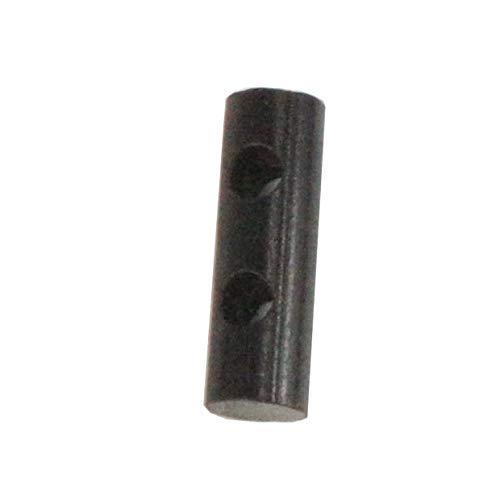 MXECO Small Portable Fire Fire Survival Drill Fire Fire Starter Perforado con Orificio de Palanca para Collar de Pulsera Paracord