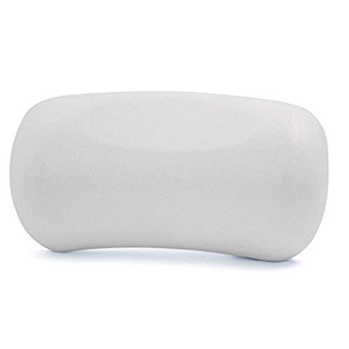 Bath Pillow, Bathtub Spa Pillow Features Powerful Gripping Technology, Comfortable, Soft, Large, Neck Support, Support Head, Back, Shoulder and Neck, Fits All Bathtub, Hot Tub, Jacuzzi Home Spa