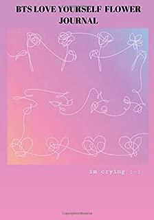 BTS LOVE YOURSELF FLOWER JOURNAL