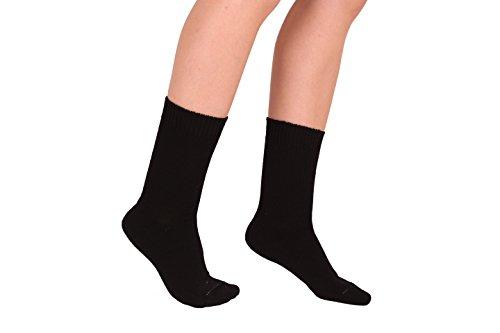 HEISSENBERGER SCHÖNAU - Sockenfabrikation HANFSOCKEN anthrazit aus 100% Hanfgarn (46-48)