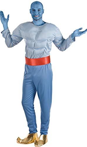 El Rey del Carnaval Disfraz de Genio de la Lámpara para Hombre