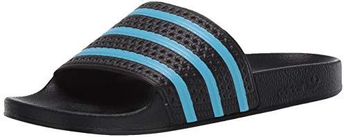 adidas Originals Adilette Slides - Sandalias para hombre Negro Size: 36 EU