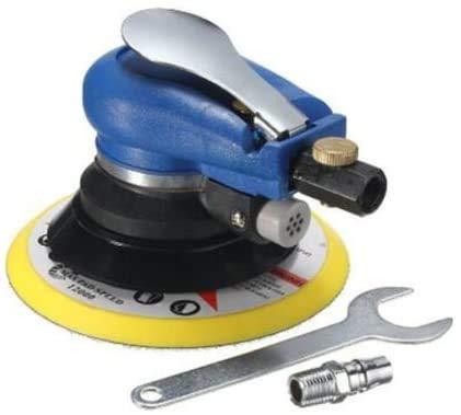 Ponceuse orbitale pneumatique 15,2 cm - Polisseuse manuelle - Kit d'outils de ponçage pour carrosserie de voiture
