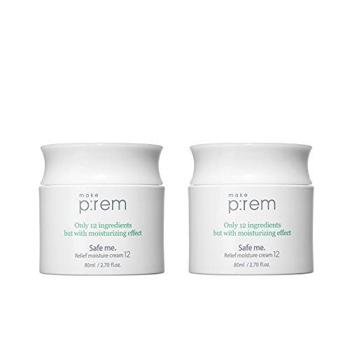 MAKE P:REM Sécurise-moi. Crème hydratante de soulagement 12 (80ml 2.70 fl.oz.)