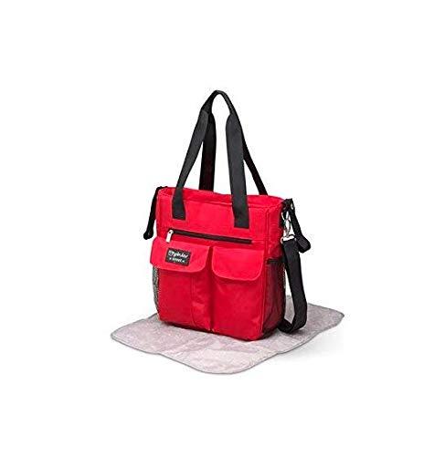 Pirulos 47600005 - Bolso, 30 x 34 x 10 cm, color rojo