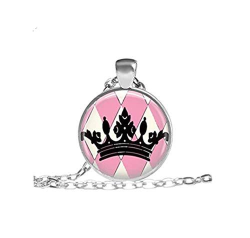 Ihre Hoheit Prinzessin Halskette Prinzessin Tiara Schmuck Preppy Princess