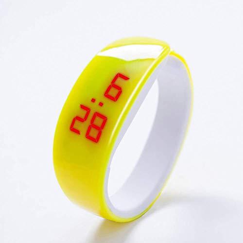PULABO Unisex Mode LED Sport wasserdichte Armbanduhr Digitalanzeige Silikonband Armbanduhren Armband Armband...