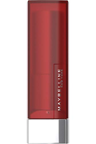 Maybelline New York Make-Up Lippenstift Color Sensational Creamy Mattes Lipstick Siren in Scarlet / Elegantes Rot mit mattierendem Finish, 1 x 4,4 g