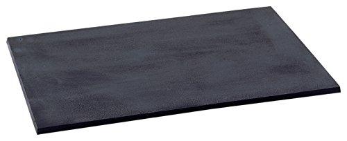 Les Ateliers DIXNIEUW 010.751 gietijzeren plaat voor open fornuis, zwart, 70 x 50 cm