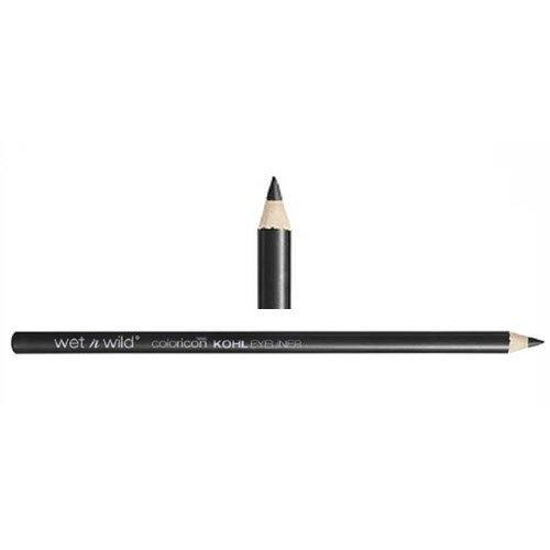 Wet N' Wild Color Icon Kohl Liner Pencil 601A Babys Got Black (Pack of 6)