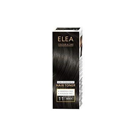 ELEA Toner Semipermanente para el Cabello 100ml (11 negro)