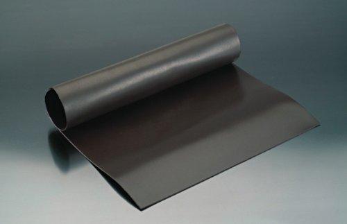 Magnetfolie magnetische Folie roh braun - unbeschichtet - 0,4mm x 62cm x 100cm – Meterware - flexible magnetische Folie, hält auf allen metallischen Oberflächen - dient nicht als Haftgrund für Magnete