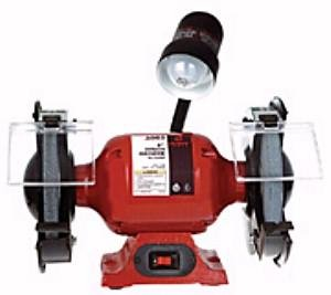 Sunex 5002A Bench Grinder with Light