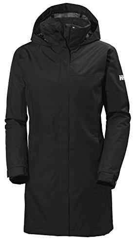 Helly Hansen Women s Aden Insulated Waterproof Windproof Breathable Coat Jacket, 990 Black, Large