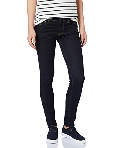 Levi's Damen 711 Skinny Jeans, Schwarz (to The Nine 0352), 25W / 34L
