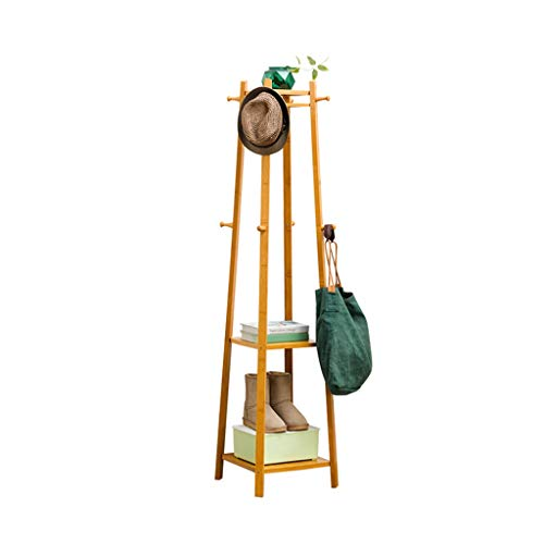 SZQ-Kapstokken Hal meubels, massief houten kapstok Slaapkamer Heavy Kapstok multifunctionele opslag Rack Outdoor Flower Stand Lengte: 168cm Slaapkamer kapstok (Size : 168 * 40 * 40CM)