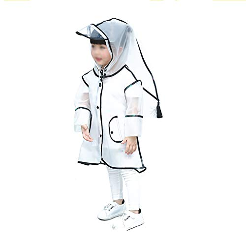 Zz Regenjas voor kinderen, waterdicht, regenjas, regenponcho regencape regenjas regenjas schattig unisex storm break regenslicker voor jongens en meisjes