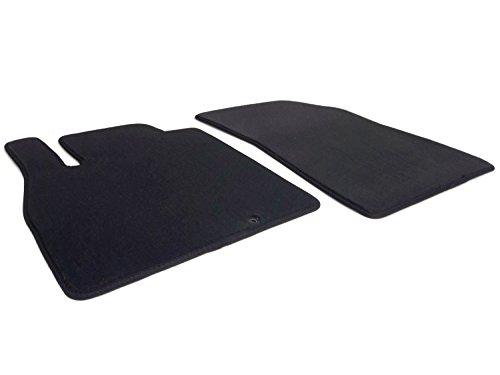 Fußmatten K13 (Velour) Automatten Original Qualität 2-teilig schwarz