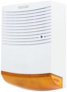 Veka - Sirena de alarma falsa con efecto disuasorio, estanca, indicador LED rojo