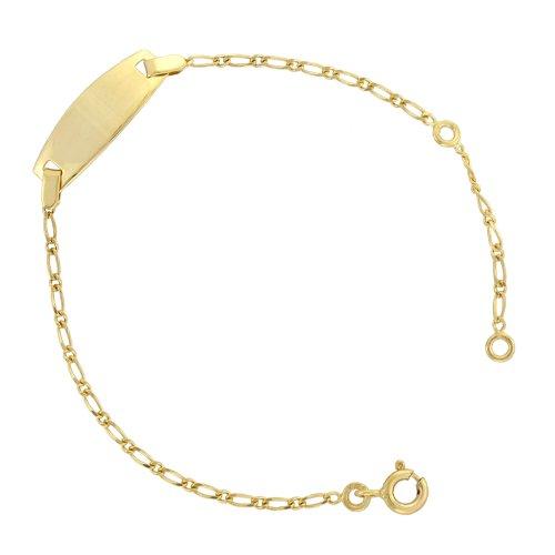 Tous mes bijoux All My Jewellery Bracelet CDMC536's Earrings Yellow Gold 375/1000 1.3 g - 14.5 cm