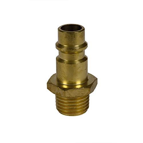 Original Einhell Gewindestecknippel R 1/4 Zoll Außengewinde (Kompressoren-Zubehör)