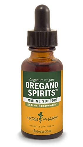Herb Pharm Oregano Spirits Extract and Essential Oil Blend for Immune Support - 1 Ounce