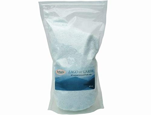 Herbaria Lago di Garda All-Natural Mineral Bath Salts with Essential Oils 40oz. Free Shipping $49 Orders. Enjoy Herbaria Soaps and Other Skin-Freindly Products.
